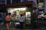 News Stand by Penn Station