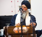 The other Sikh man harmonium