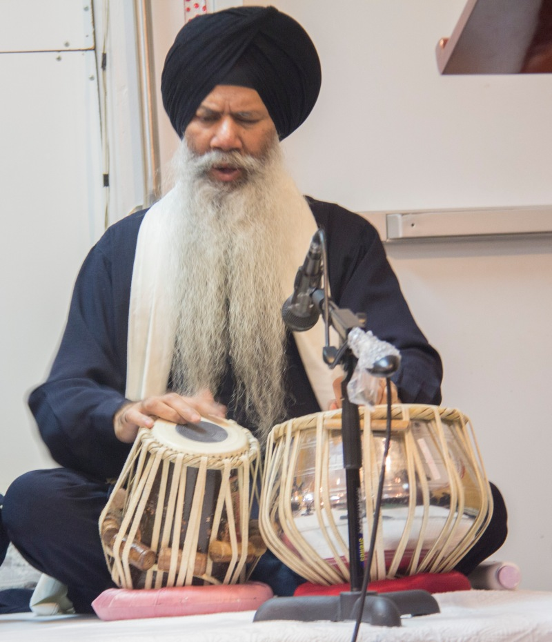 Sikh man on tabala