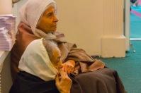 Two woman devotees