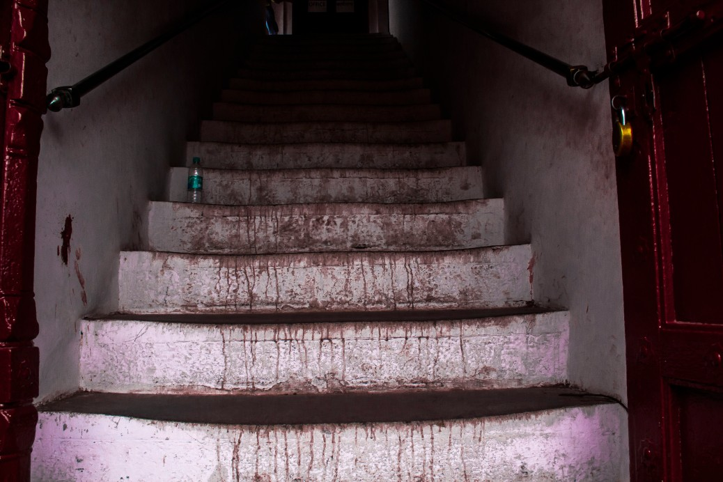 Steps at the Red Ford, New Delhi