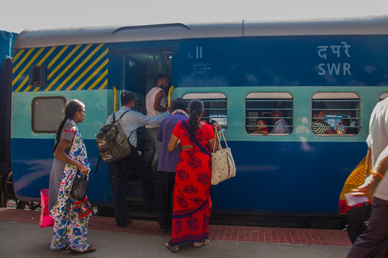 Mysore train -all aboard