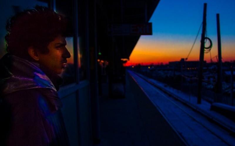 Sunset at Hicksville N.Y.