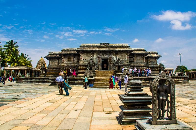 Belur- Main temple
