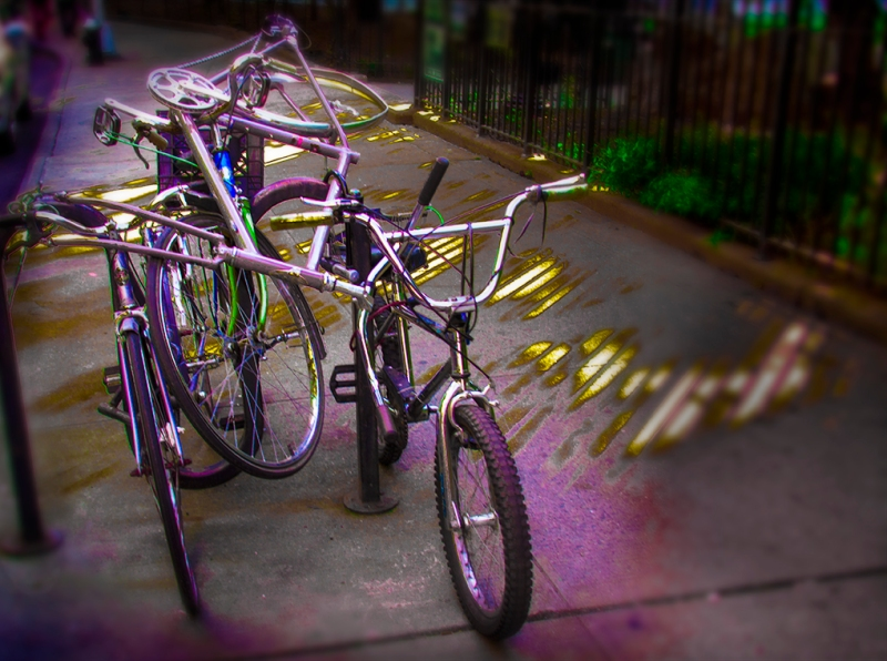 A Stack of Bikes