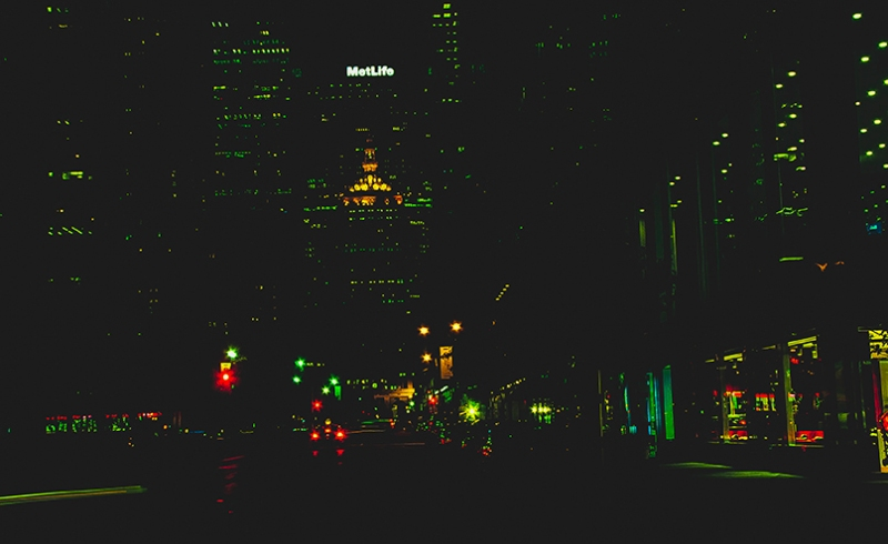 Park-ave-at-night