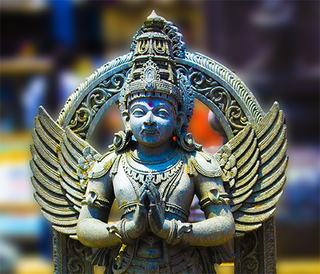 The Angel at the Chennakeshava temple
