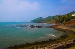 Goa beach from high cliff