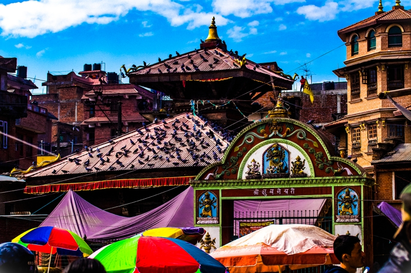 Pashupathinath Temple in Katmandu, Nepal.