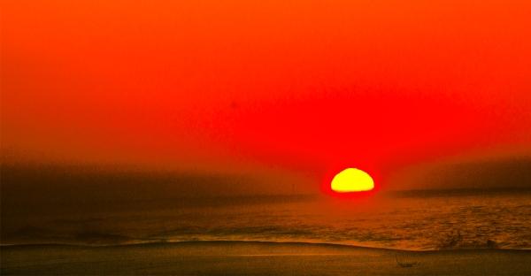 Sunset on Gilgo beach