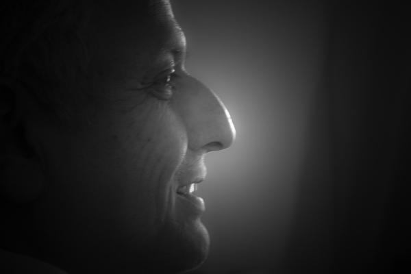 The profile of Sri Krishna